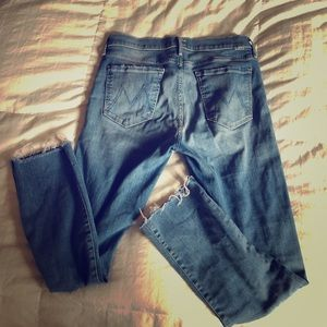 Rascal Ankle Snippet Straight Leg Jeans